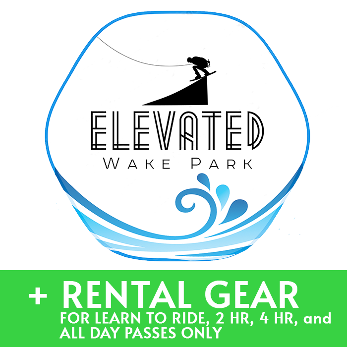+ Rental Gear for Learn to Ride, 2HR, 4HR, or All Day